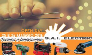 Sai Electric - open day tecnica e innovazione 25 e 26 maggio 2016 - maranello e viadana