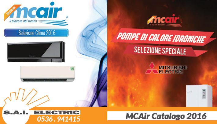 MCAir 2016 condizionatori mitsubishi modena 2016 nuovo catalogo - Howeel, Vortice, mitsubishi pompe di calore